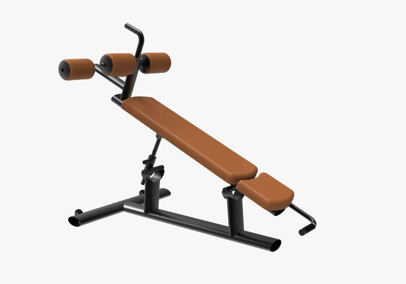 MP-BK7015A AB CRUNCH DECLINE BENCH